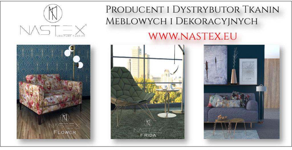 Nastex Tkaniny meblowe i dekoracyjne - portal tapicerstwo.co